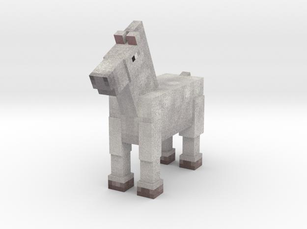 Horse 029 in Full Color Sandstone