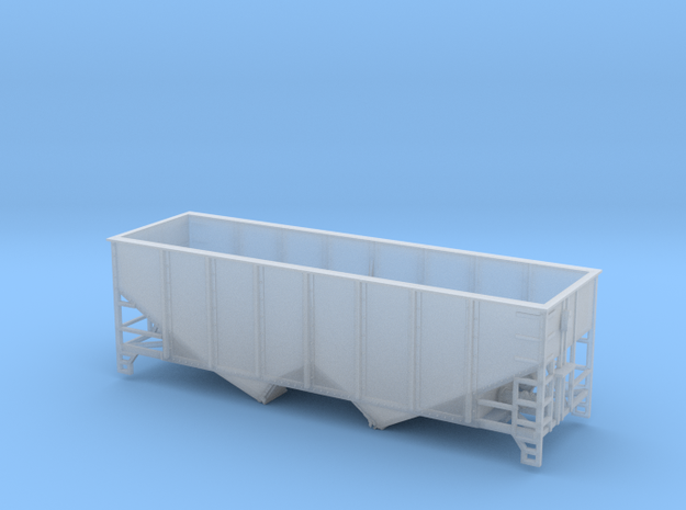 TT Scale 2 Bay Hopper 6 Panel in Smooth Fine Detail Plastic