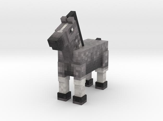 Horse 009 in Full Color Sandstone