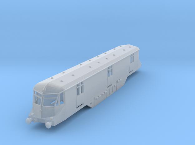 GWR Railcar Postvan - N - 1:148 in Smooth Fine Detail Plastic