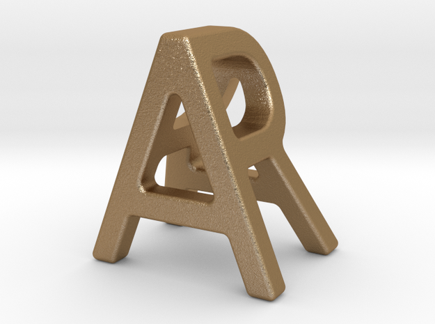 AR RA - Two way letter pendant
