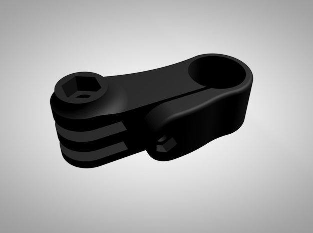 GoPro Ski Pole Mount (Straight) 3d printed