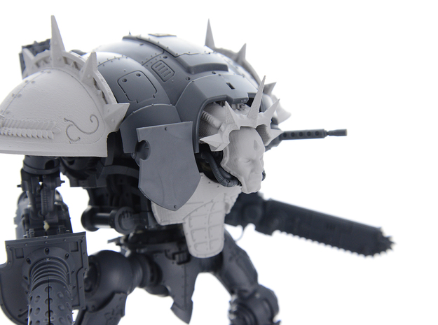 Spiked Shoulder pad for Knight Titan RIGHT