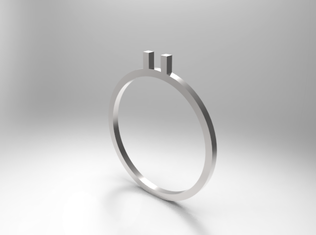Ö ring 16.7mm in 14K Yellow Gold