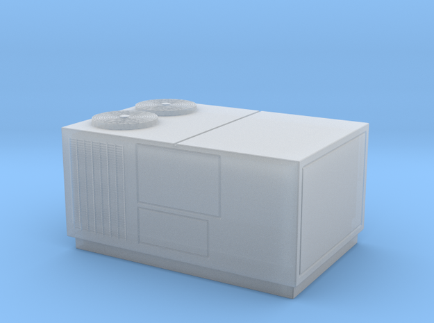HO Scale Rooftop HVAC Unit in Smooth Fine Detail Plastic