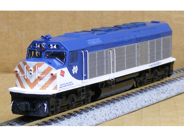 N Scale EMD F40C (Milwaukee Road)