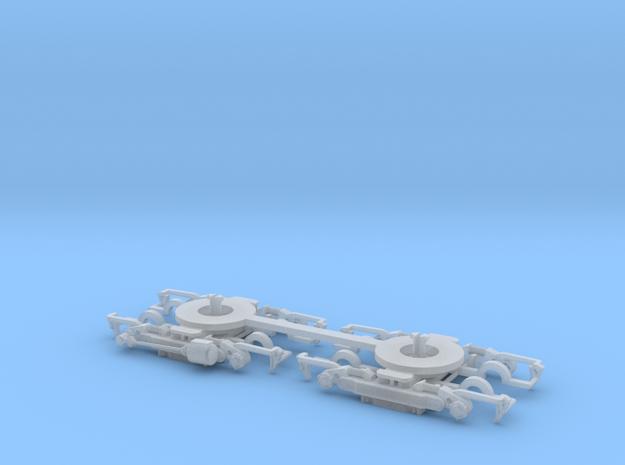 #00V Drehgestell Wegmann15 Roco-Adapter in Frosted Ultra Detail