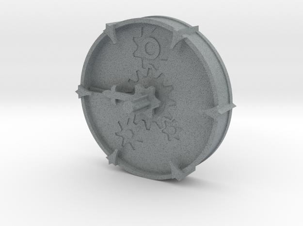Cheese Wheel Clock (rotating)