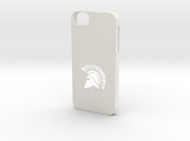 iPhone 5/5s Case Molon Lave in White Natural Versatile Plastic