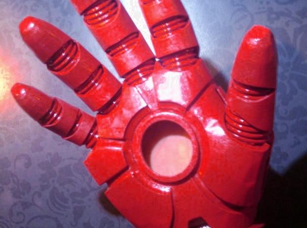 Iron Man Gauntlet replica 3d printed