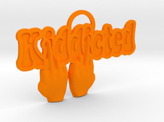Kiddicted-901flipoff in Orange Strong & Flexible Polished