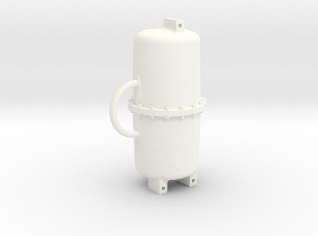 AB Brake Reservoir Key-fob in White Processed Versatile Plastic