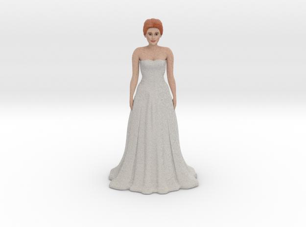 Redhead Bride (v.1) in Full Color Sandstone