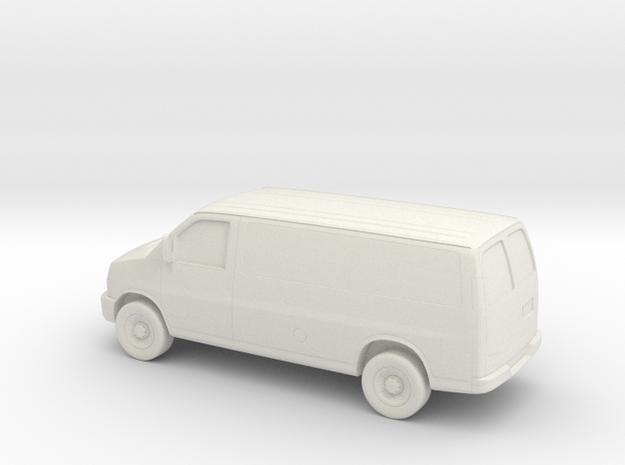 1/64 2003-14 Chevrolet Express Van in White Natural Versatile Plastic