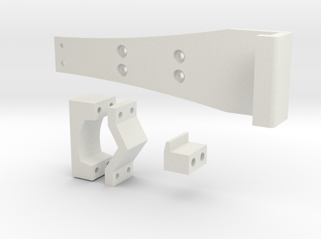 Google Nexus Bracket for turnigy 9xr in White Natural Versatile Plastic
