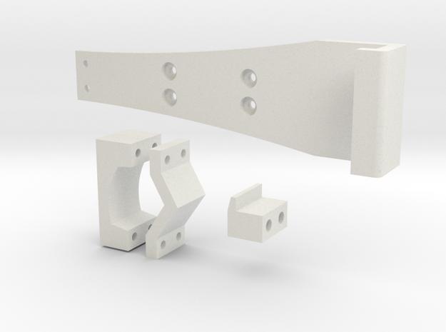 Google Nexus Bracket for turnigy 9xr in White Natural Versatile Plastic
