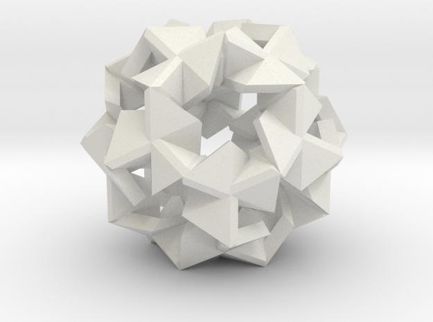 Pinwheel Lattice - 2.2 cm in White Strong & Flexible