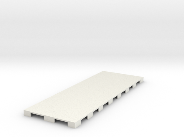 P-65stp-straight-road-only-110-75-pl-1a in White Natural Versatile Plastic