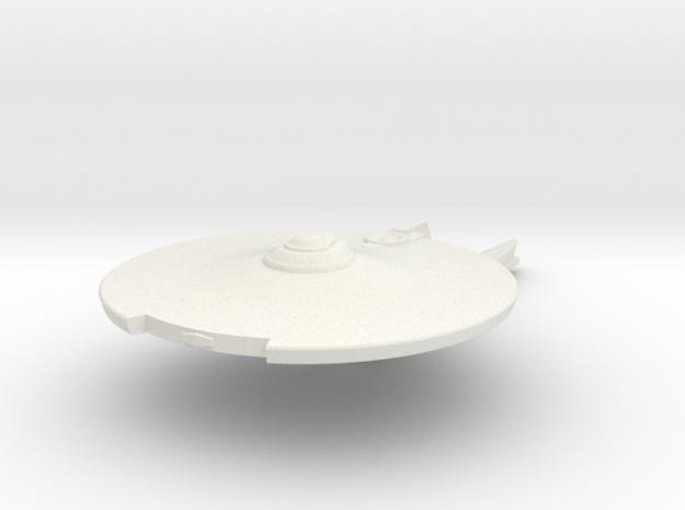 1/5000 Jenghiz Destroyer V2 in White Natural Versatile Plastic