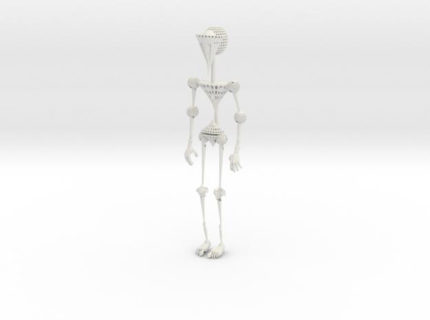 Robot in White Natural Versatile Plastic