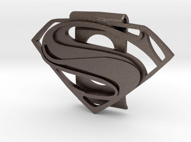 Superman Money Clip in Stainless Steel