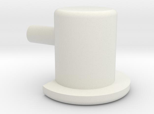IKEA Shelf Pin in White Natural Versatile Plastic