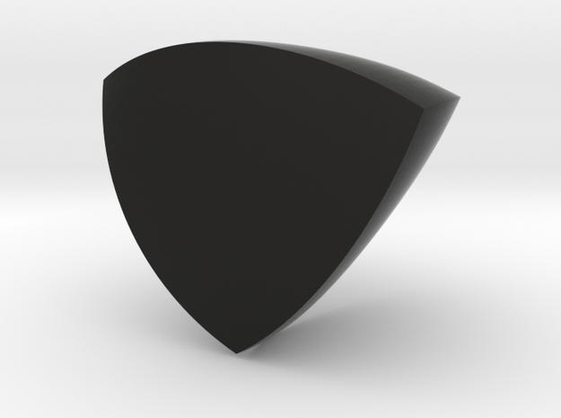 Reuleaux Tetrahedron in Black Strong & Flexible