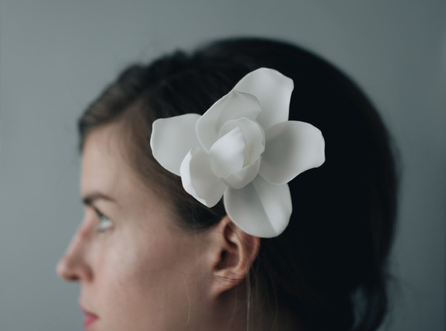 Magnolia Comb in White Strong & Flexible