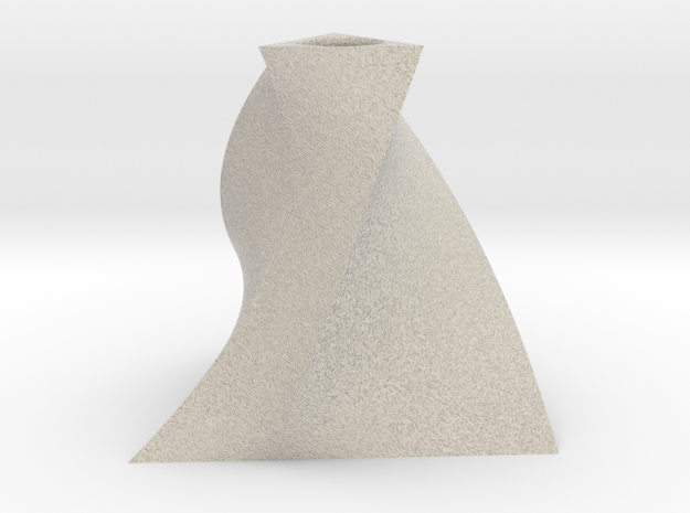 Twist Bud Vase 3 in Natural Sandstone