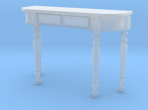 1:24 Colonial Console Table in Frosted Ultra Detail