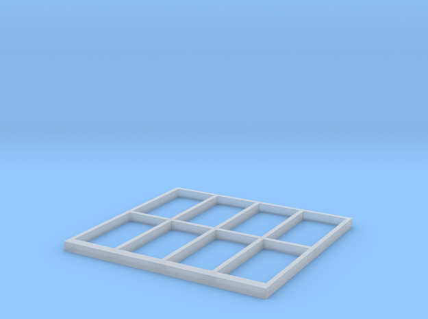 Signalbox Window March South 1 in Smooth Fine Detail Plastic