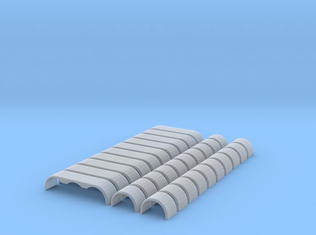 Gautschi Single & Triple Set in Smooth Fine Detail Plastic