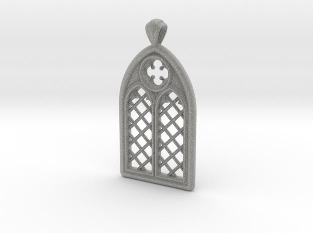 Gothic Window Pendant (L)