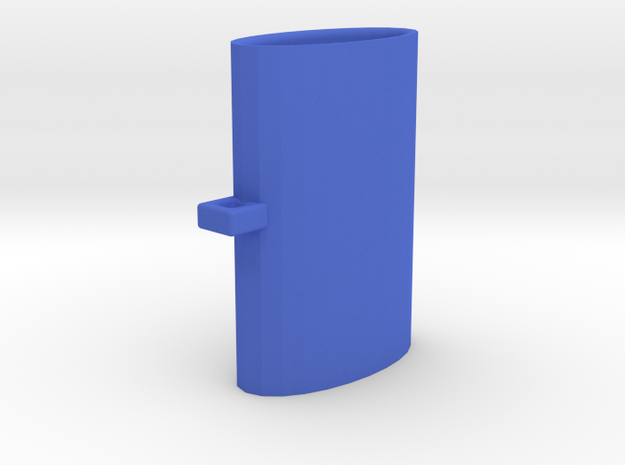 BIC Lighter Holder Key Chain in Blue Processed Versatile Plastic
