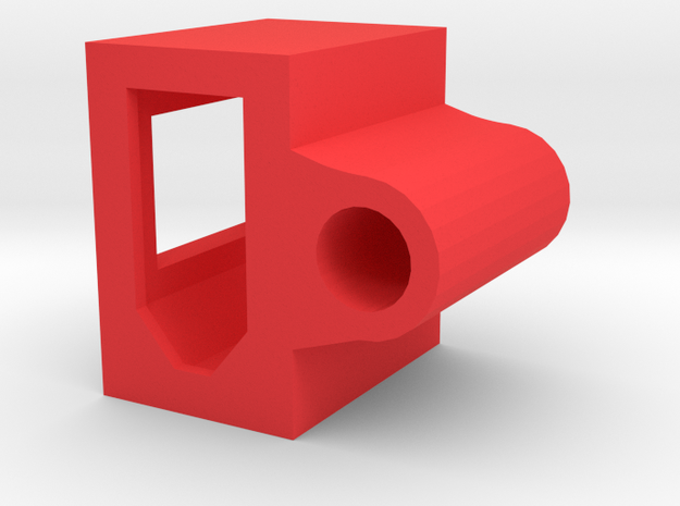 Xt60 plug Vertical Mount Zmr250 Holder in Red Processed Versatile Plastic