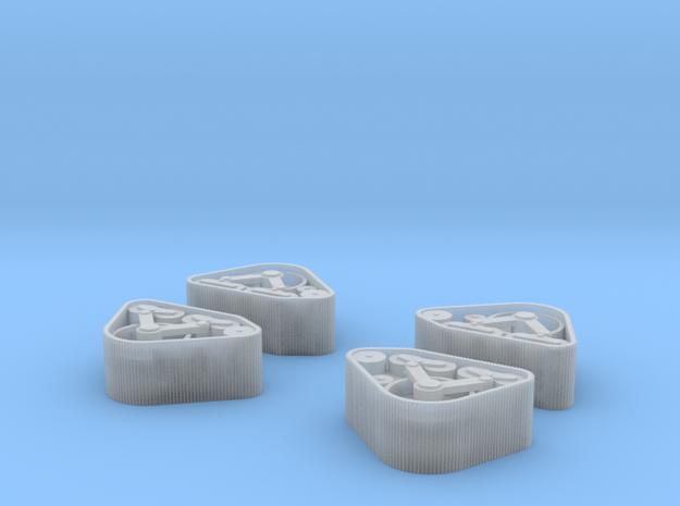 Loopwerk Ford McMurdo Voorkant 1:160 in Smooth Fine Detail Plastic