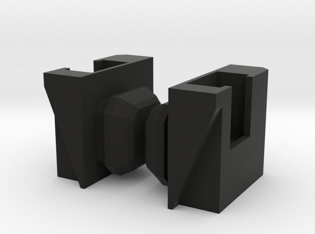 Combiner Wars Limbs to Galaxy Convoy/Cybertron OP in Black Natural Versatile Plastic