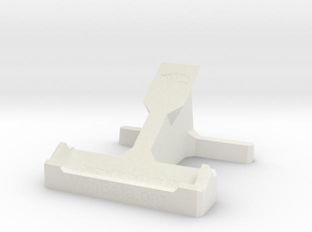 Lumia 830 Desk Stand in White Natural Versatile Plastic