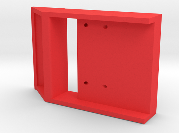 FRAM71 Front-Port Housing in Red Processed Versatile Plastic