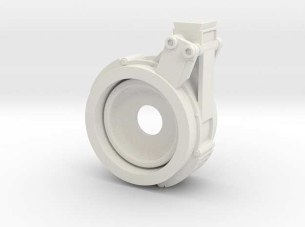 EE-3 JK Scope Mount Front in White Strong & Flexible