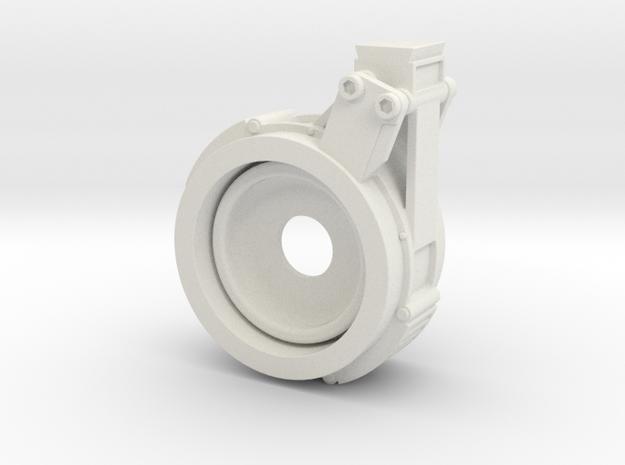 EE-3 JK Scope Mount Front in White Natural Versatile Plastic