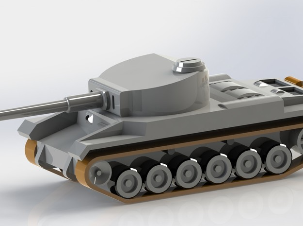 Tank VK 3001 (P) Set of 5 1/285 6mm 3d printed
