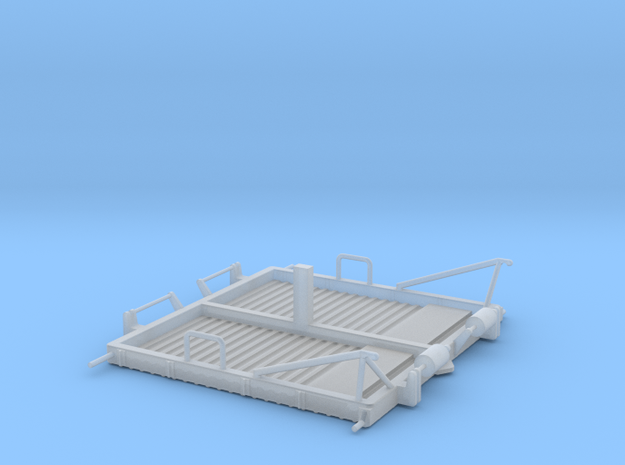 01-Folded LRV - Central Platform in Smooth Fine Detail Plastic