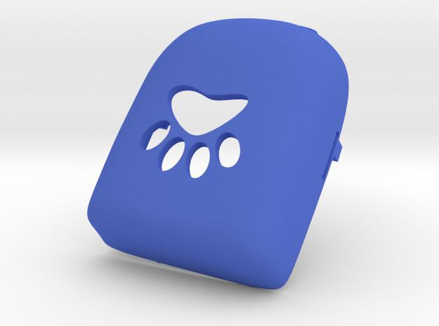 Pawprint Omnipod Case in Blue Processed Versatile Plastic