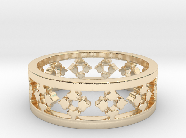 Endless Knight  Ring Size 13.5 in 14K Gold