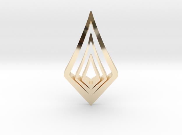 """""""Hidden Heart"""" LUCID, pendant 3d printed"""