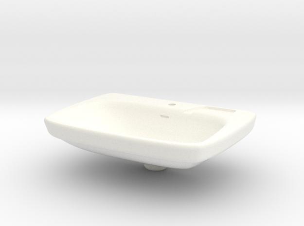 Miniature Bathroom Sink 1/12