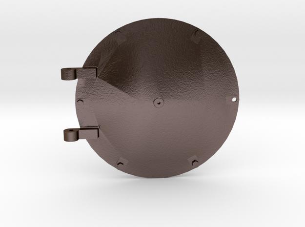 No. 23 - Smokebox Door .625 Plus 1% in Polished Bronze Steel