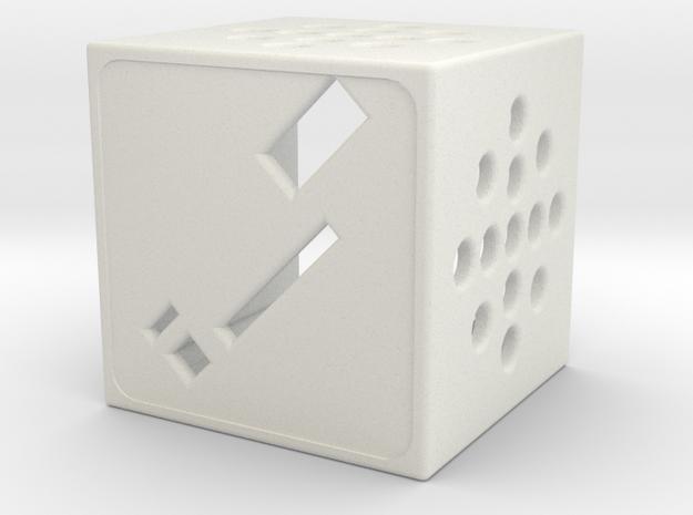 PICxie Case Part A in White Natural Versatile Plastic