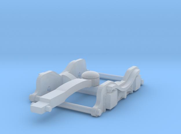 GraFar 08 Bogie (BG v1.2N) in Smooth Fine Detail Plastic